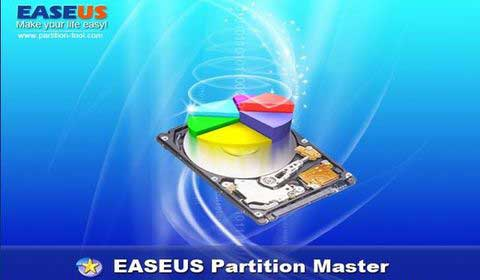 EASEUS Partition Master.