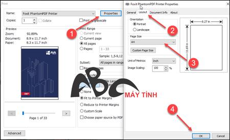 cách nén file PDF