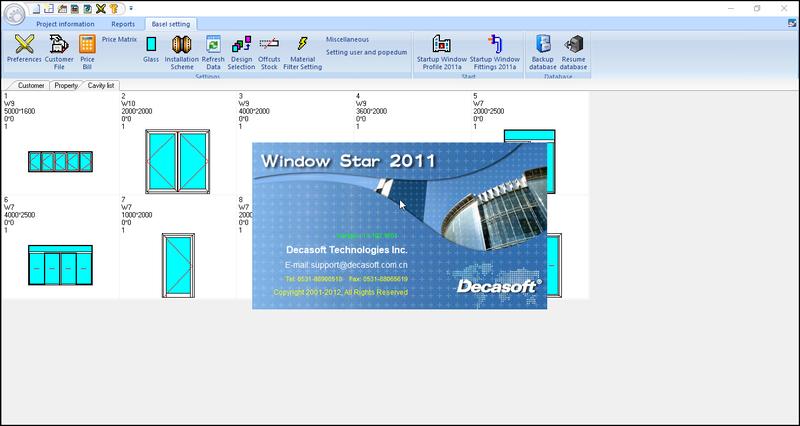 phần mềm nhôm kính Window Star