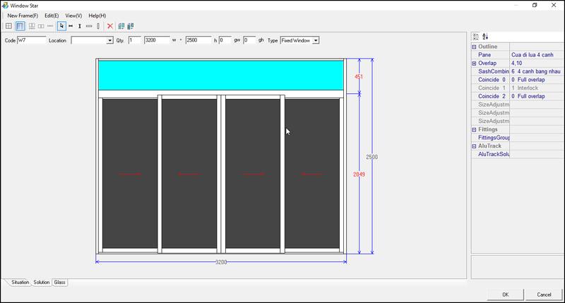 phần mềm cuẩ nhôm Window Star 2011